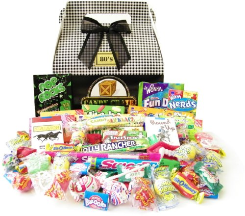 Candy Crate 1980's Classic Retro Candy Gift Box