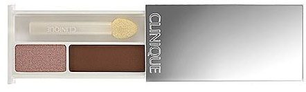 Clinique Colour Surge Eye Shadow Duo in Lucky Penny/ Rose Chocolate Travel Size (Unboxed)