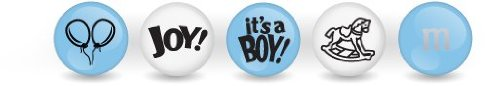 Personalized M&M'S? Baby Boy Blend