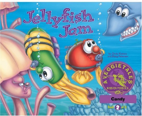 Jellyfish Jam - VeggieTales Mission Possible Adventure Series #2: Personalized for Candy
